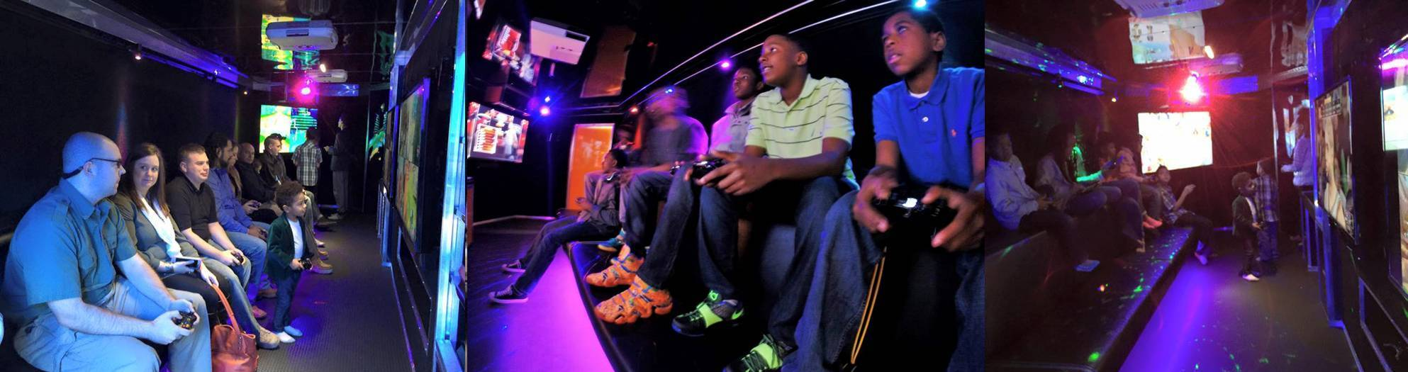 Video game truck birthday party in Charleston, South Carolina