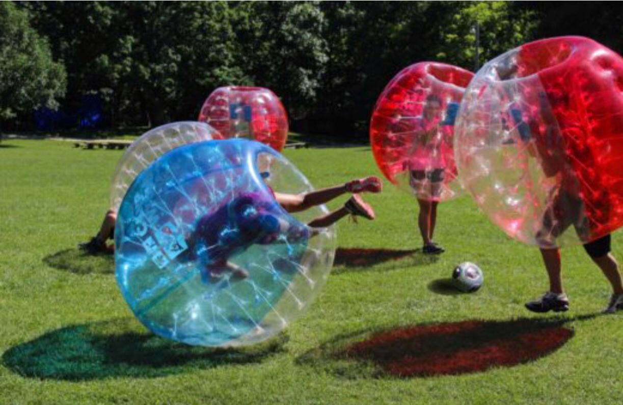 Knockerball bubble soccer party in Greater Charleston, South Carolina