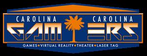 Carolina Gamerz laser tag party in Charleston - logo